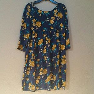 Old Navy Floral Dress Kids size 14
